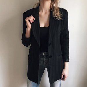 Christian Dior Pinstriped Blazer